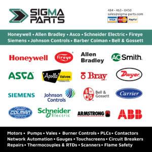 Sigma Parts Line Card 2018